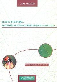 Plantes insecticides : Evaluation de l'impact sur les insectes auxiliaires – Lilian Ceballos
