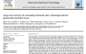 Food and Chemical Toxicology : Réponses aux critiques