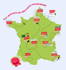Communes bio et sans pesticides ! Les grandes gagnantes sont Grande-Synthe (59), Mouans-Sartoux (06) et Barjac (30)
