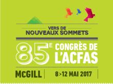 """Congrès ACFAS """"Pesticides : Impact sur la santé et l'environnement"""" Université McGill au Canada du 8 au 12 mai 2017"""
