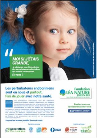 Nouvelle campagne engagée portée par la Fondation Léa Nature/Jardin Bio