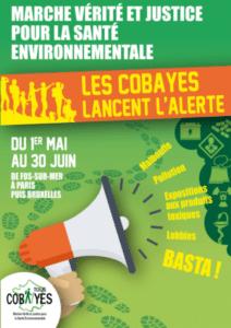 Soutien à la Marche des Cobayes du 1er mai au 30 juin 2018