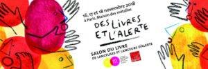 4ème salon du livre des lanceurs et lanceuses d'alerte les 16, 17 et 18 Novembre 2018 à Paris