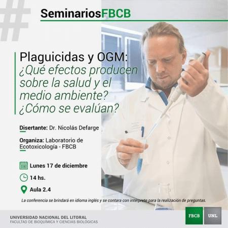 Conférences en Argentine de Nicolas Defarge les 17, 18 et 19 décembre 2018