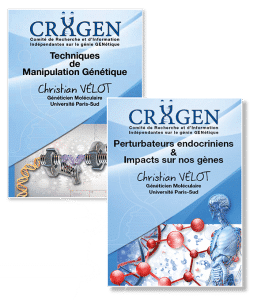 NOUVEAU : sortie de deux DVD CRIIGEN des conférences du Dr Christian Vélot