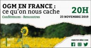 Conférence de Christian Vélot «OGM ce qu'on nous cache» le 23 novembre 2019 à Poitiers